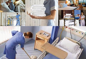 hospital hotel cleaning